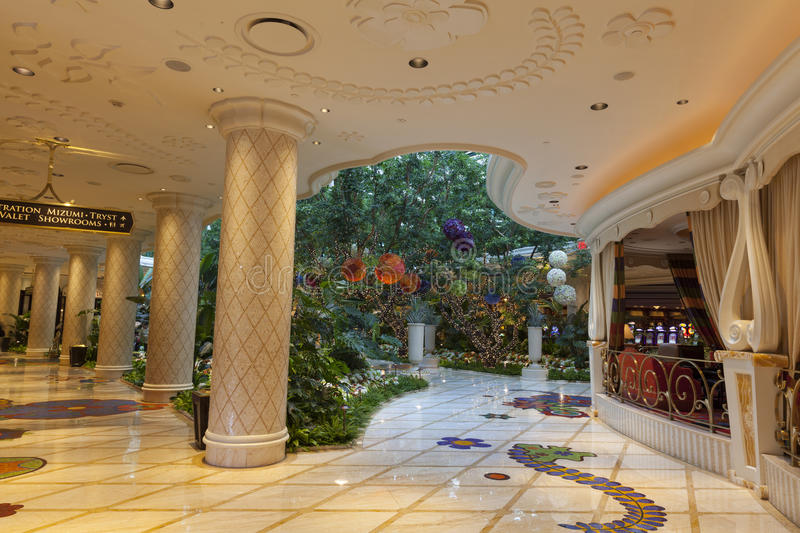 Download Wynn Hotel Interior In Las Vegas, NV On August 02, 2013 Editorial Stock Image - Image: 32702174