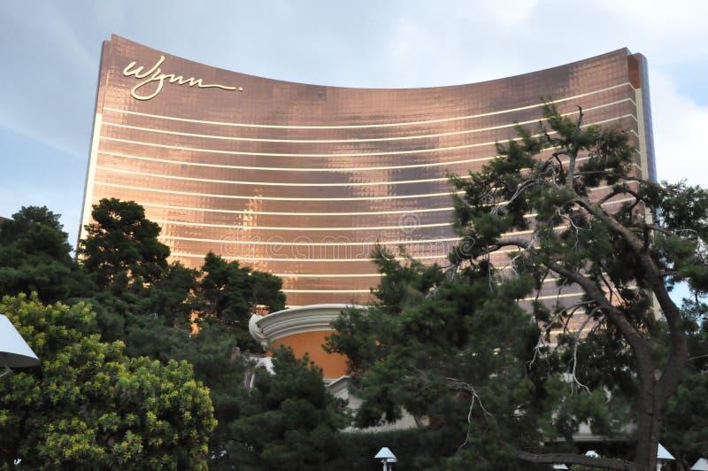Wynn kasyno w Las Vegas i hotel fotografia royalty free