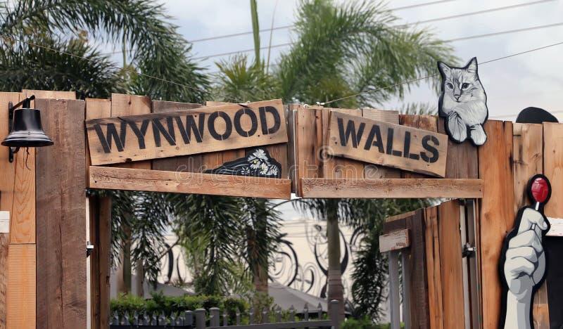 Wynwoodmuren Miami royalty-vrije stock fotografie