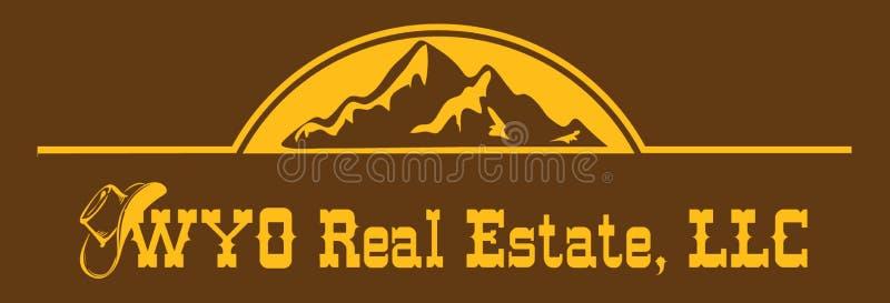 WYO Real Estate, LLC illustration libre de droits