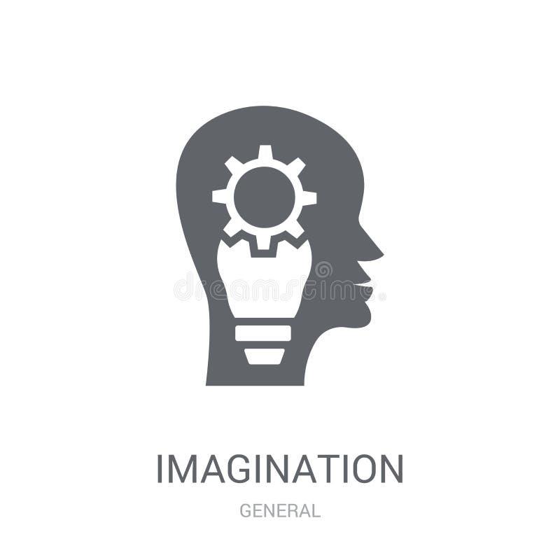 Wyobraźni ikona  royalty ilustracja