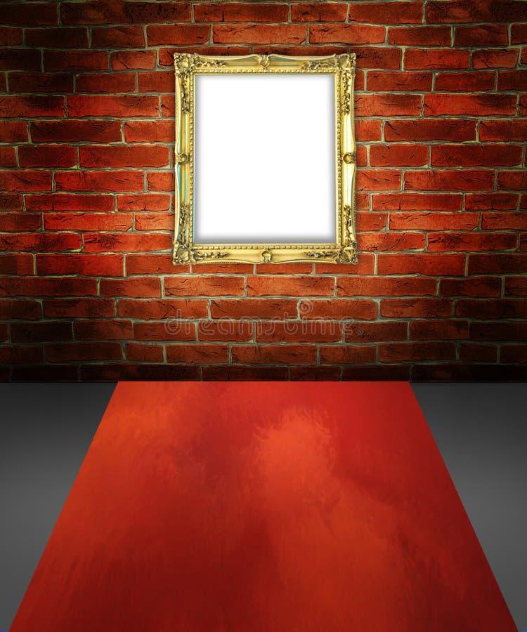 Wyobraźnia pokój ilustracja wektor