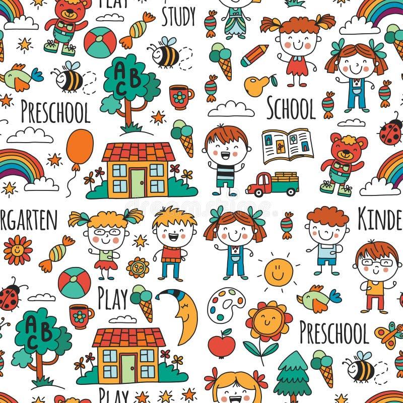 wyobraźnie eksploracja nauka Sztuka learn dzieciniec Dzieci dziecka daugther rysunkowego rodzinnego ojca dziadek babci dzieciaki  ilustracji