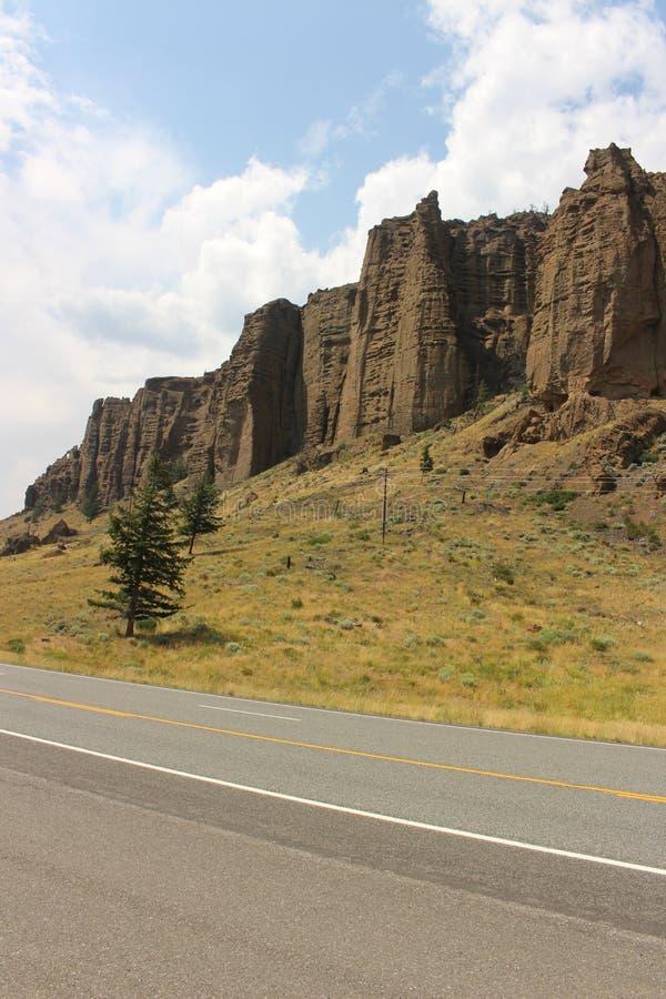 Wyoming - berg fotografering för bildbyråer