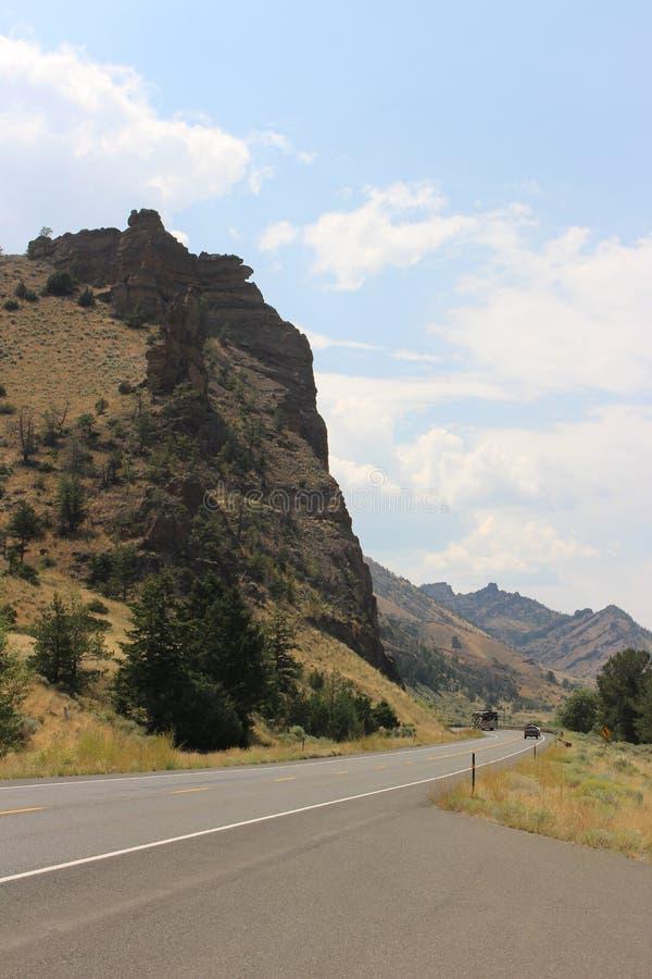 Wyoming - berg royaltyfri foto
