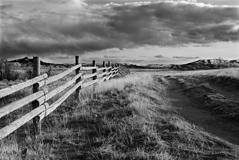 Wyoming krajobrazu obrazy stock