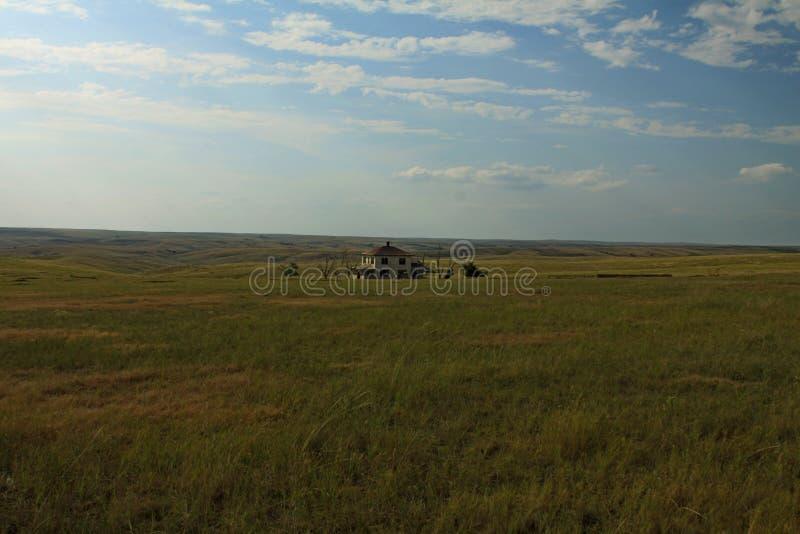 Wyoming prerii krajobraz zdjęcie royalty free