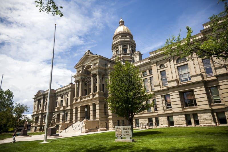 Wyoming stanu Capitol budynek zdjęcia stock