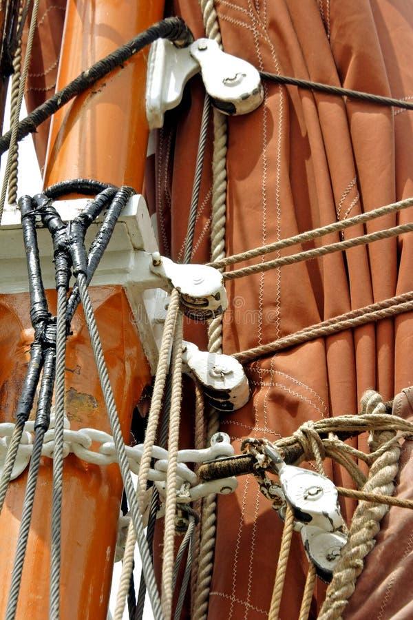 wypływa Tamizy barka zdjęcie stock