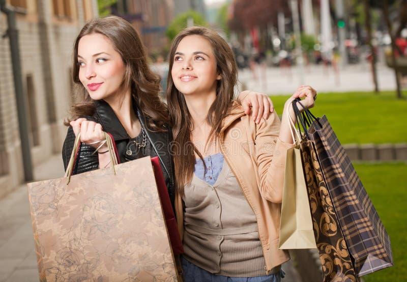 Wypad do sklepów. fotografia stock