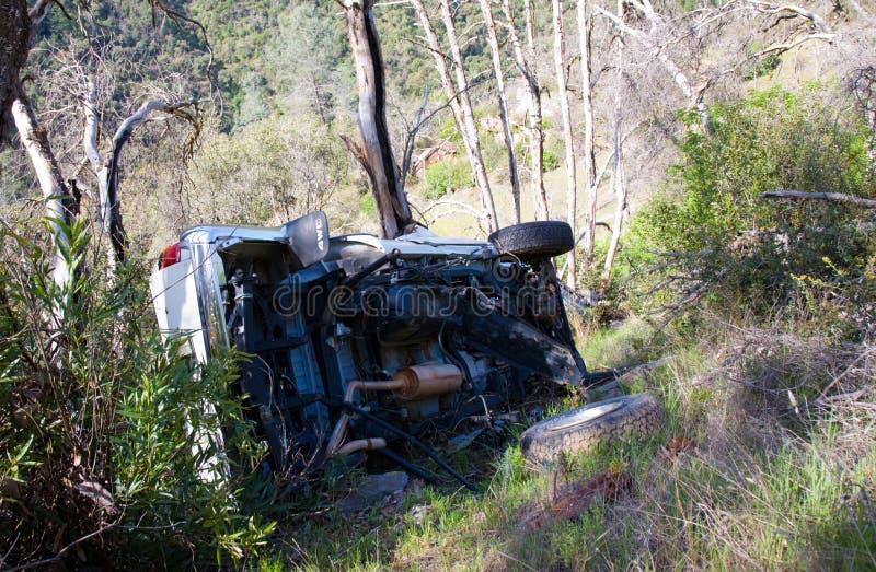 wypadek samochodowy śmierć fotografia royalty free