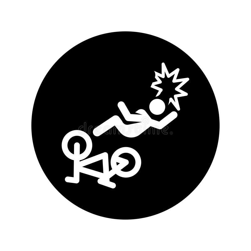 Wypadkowa ikona ilustracja wektor