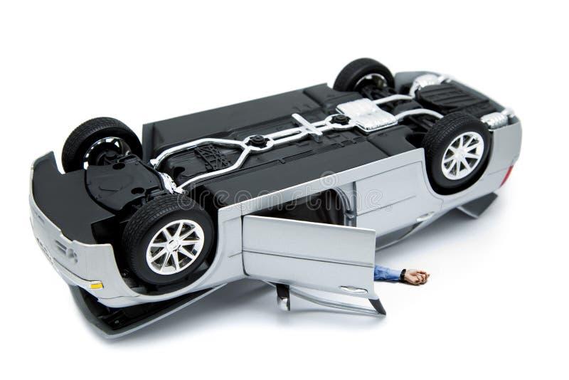 wypadkowy samochód zdjęcie stock