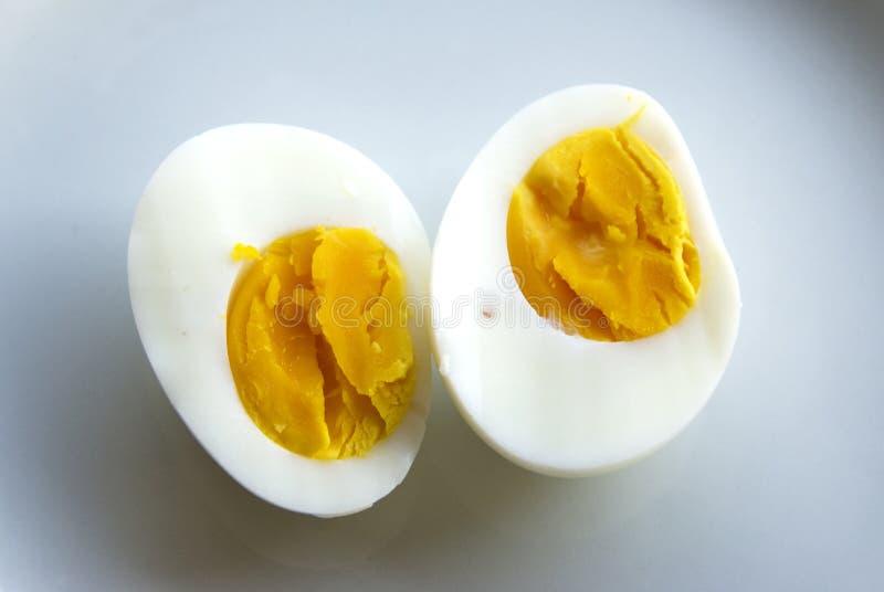 wyparzonych jajko obraz stock