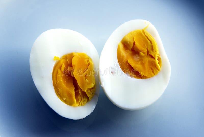 wyparzonych jajko zdjęcia stock