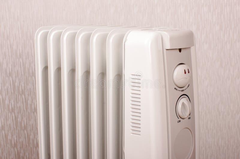 Wypełniający elektryczny grzejnik dla dodatkowego domowego ogrzewania zdjęcie royalty free
