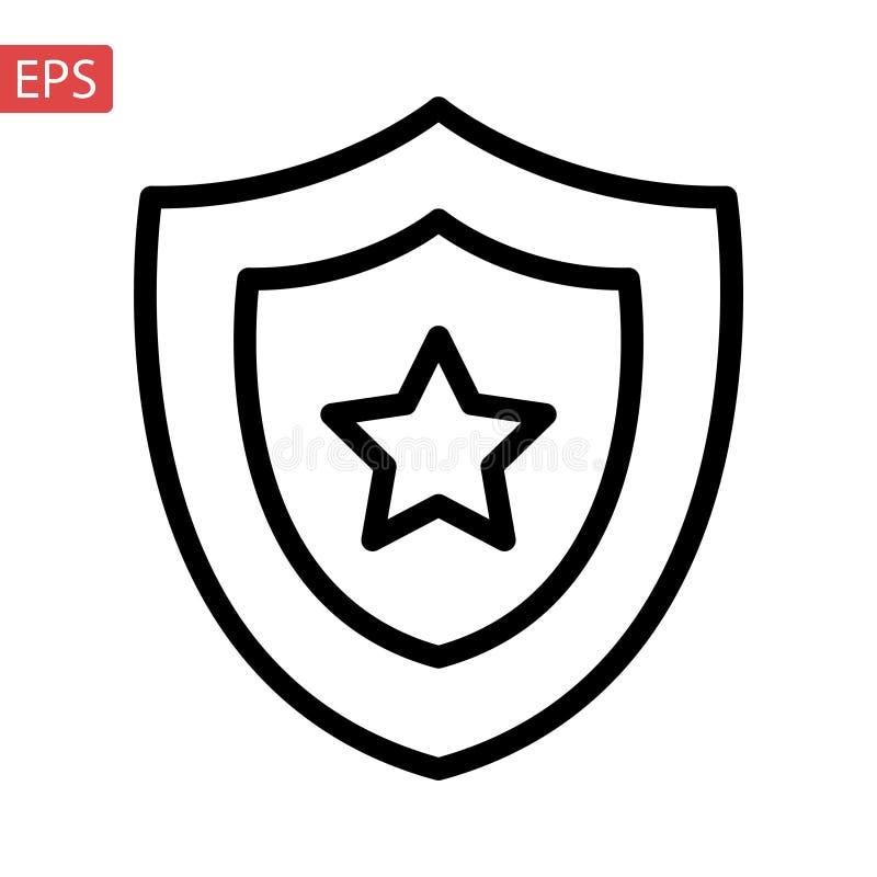 , wypełniający mieszkanie znak, bryła odizolowywająca na bielu Symbol, logo ilustracja Piksel Perfect ilustracja wektor