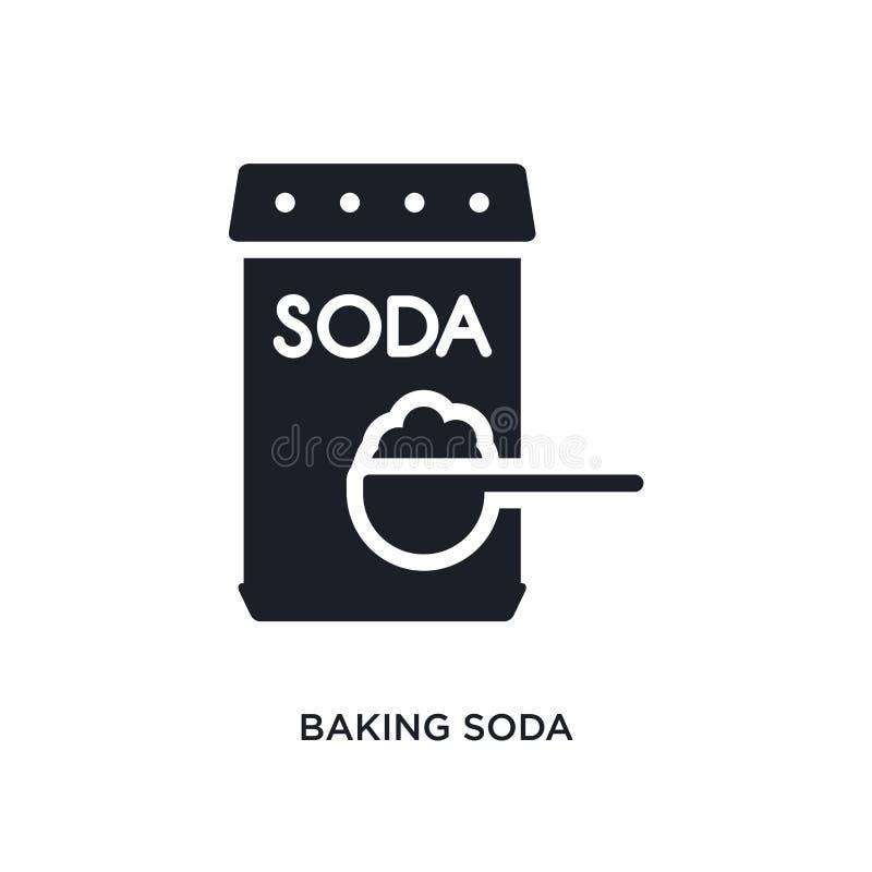 wypiekowej sody odosobniona ikona prosta element ilustracja od czyści pojęcie ikon wypiekowej sody logo znaka symbolu editable pr ilustracja wektor