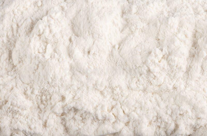 Wypiekowej sody Sodium dwuwęglanu Odgórny widok obraz stock