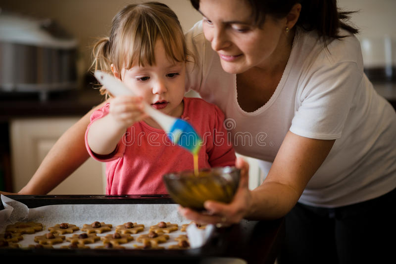 Wypiekowi ciastka zdjęcie stock
