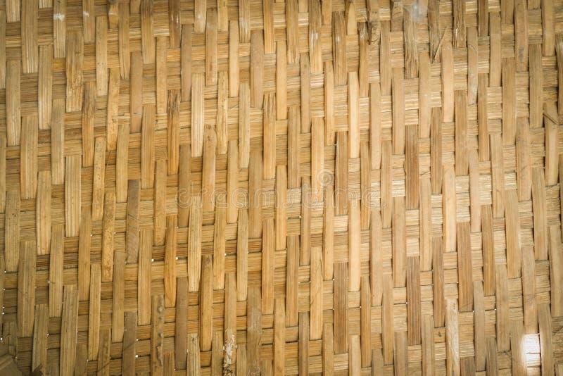 Wyplata bambusy fotografia stock