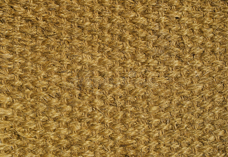 wyplatający podłogowy dywanik fotografia stock