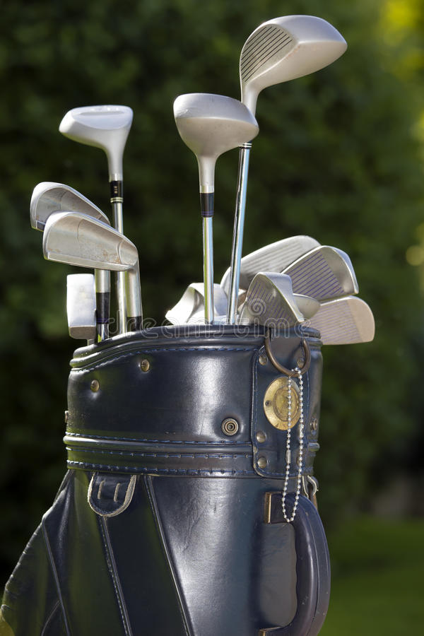 wyposażenie golf fotografia stock
