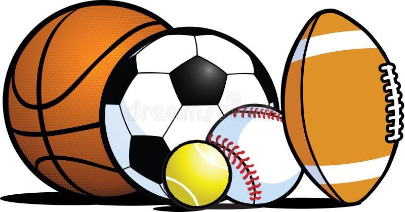 wyposażenie sporty royalty ilustracja