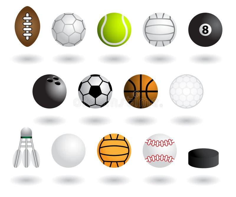 wyposażenie sporty ilustracji
