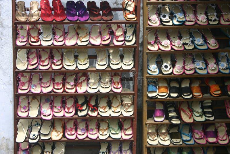 wyprzedaż butów obraz royalty free