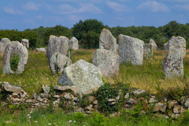 Wyrównanie przy Brittany, Francja obrazy royalty free
