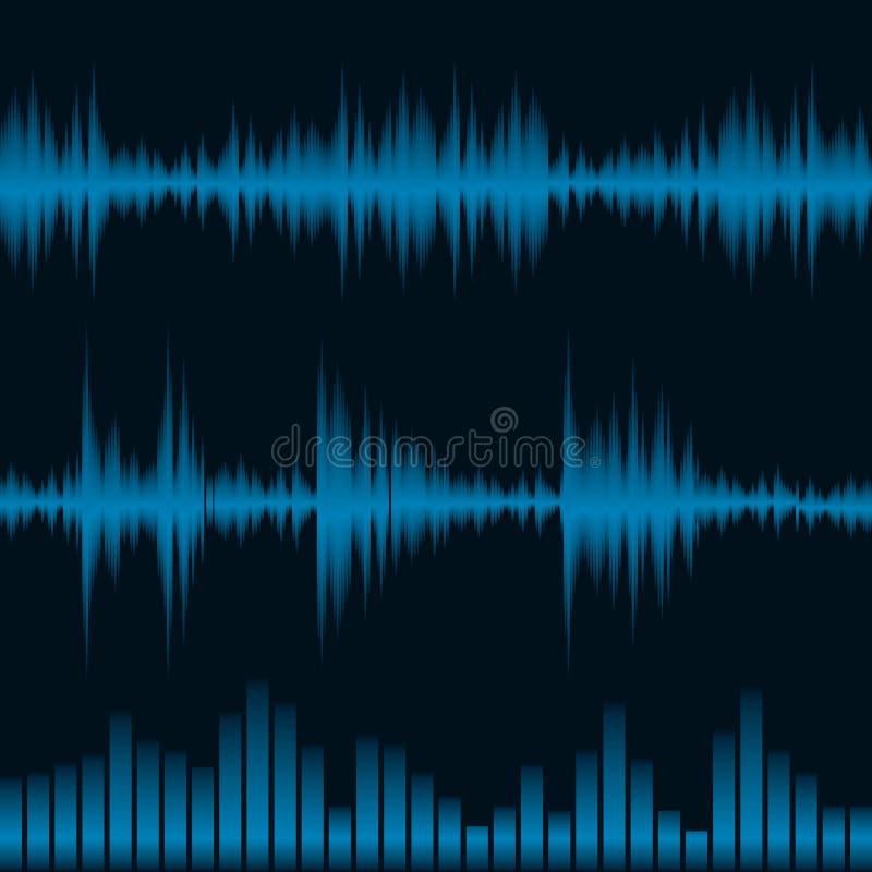 wyrównywacza waveform ilustracji