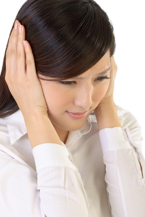 wyrażeniowy stres zdjęcie stock