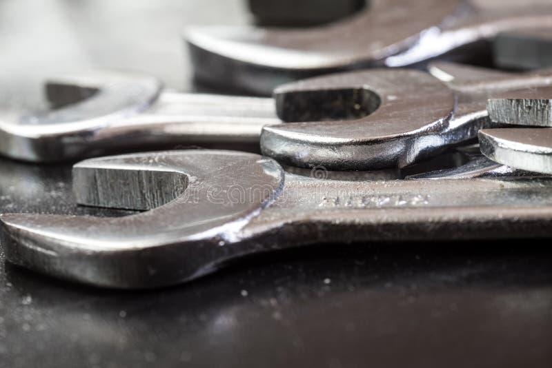 Wyrwań stalowi narzędzia dla naprawy zakończenia up zdjęcie stock