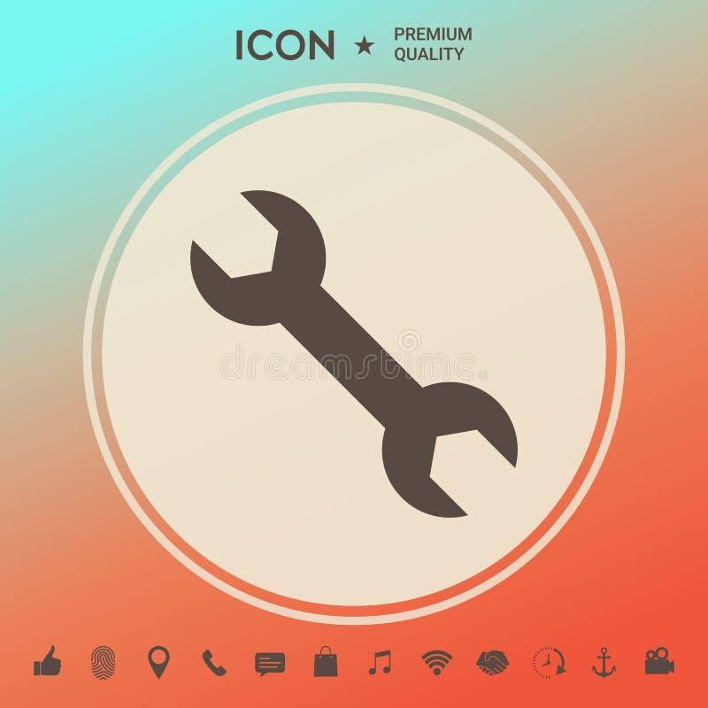 Wyrwanie ikony symbol ilustracji