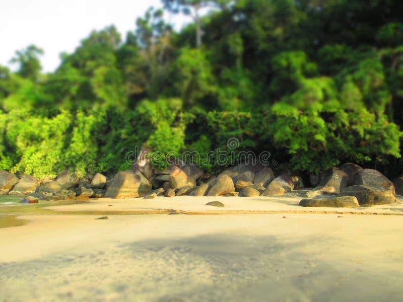 Wyrzucać na brzeg Tajlandia zdjęcie royalty free