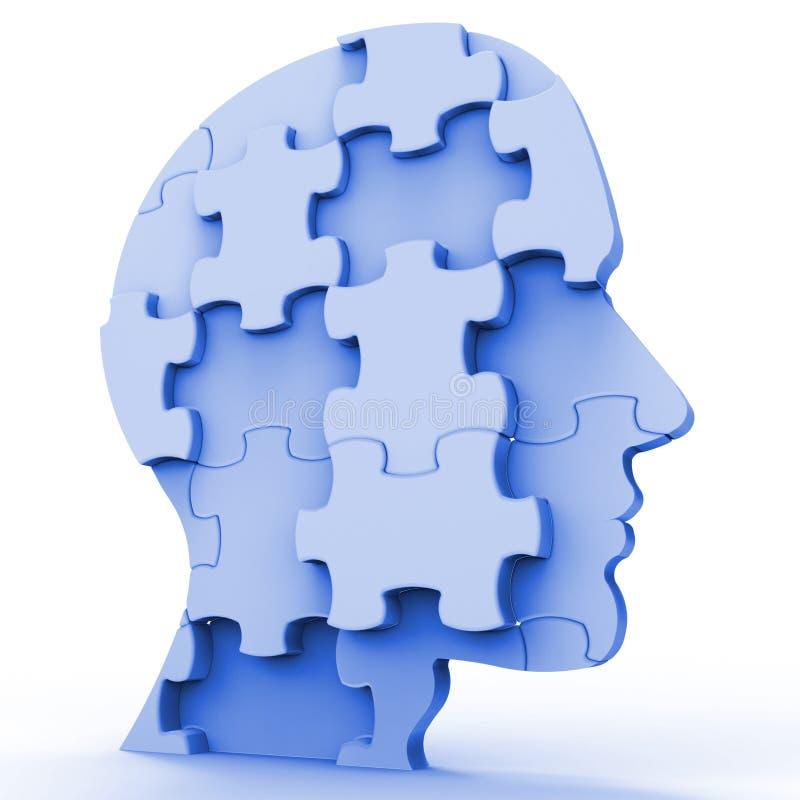 Wyrzynarki głowa Reprezentuje plany osoba I kawałek ilustracja wektor