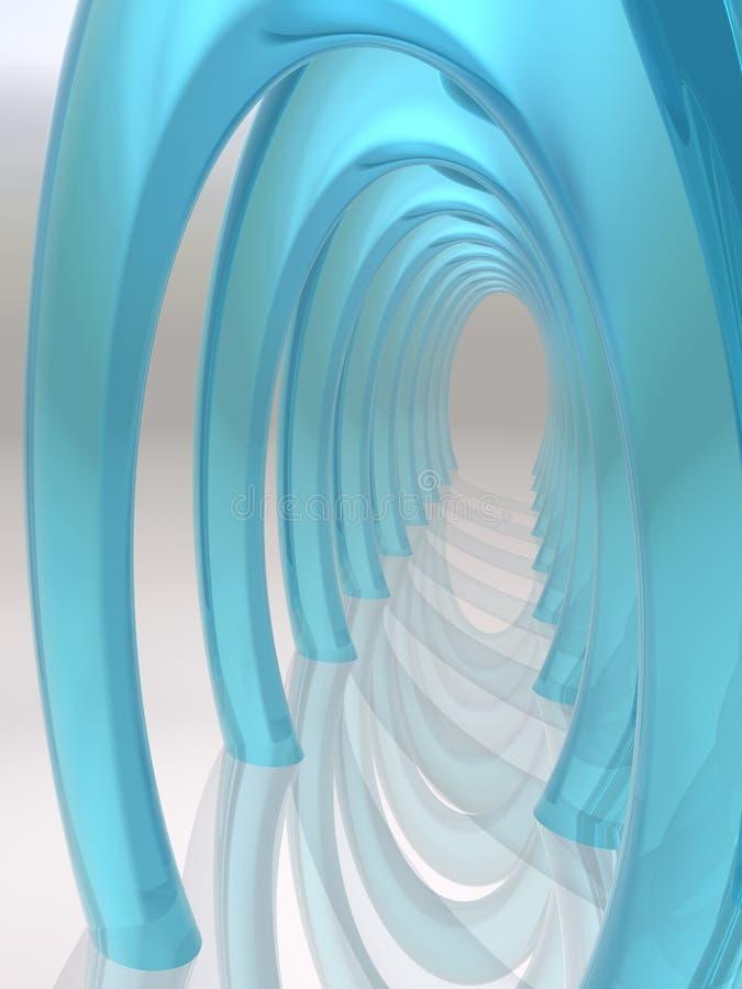 wysklepia okulary dreamscape sali ilustracja wektor
