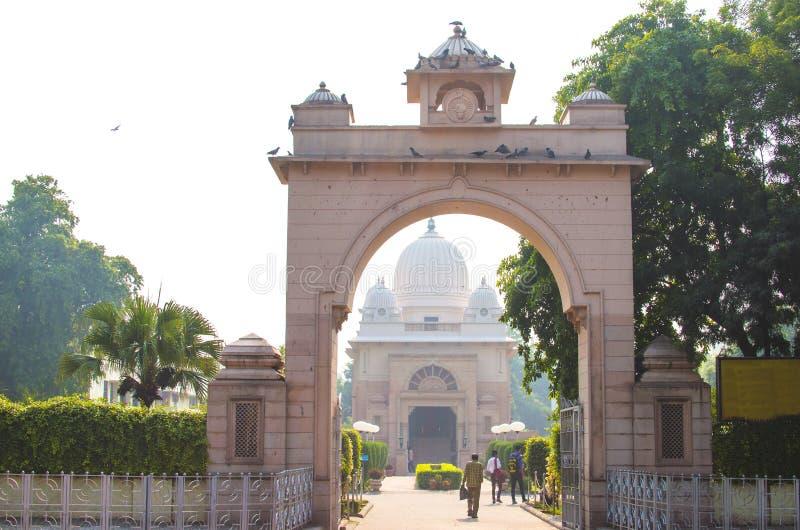 Wysklepia wejście świątynia w Starym Delhi obrazy royalty free