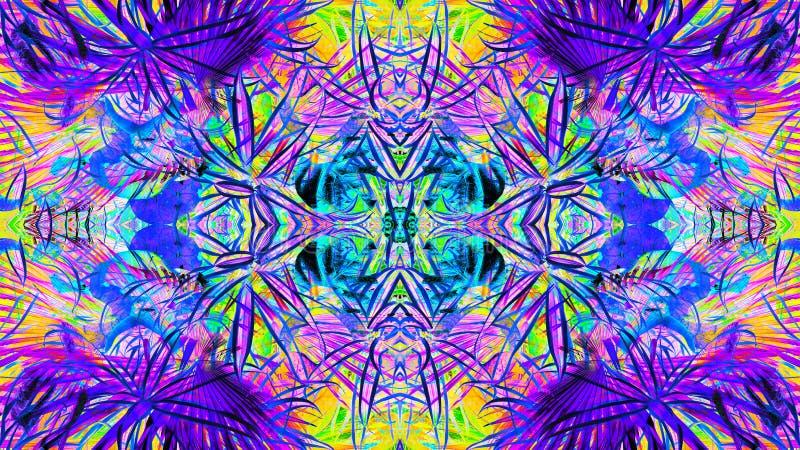 Wysoce szczegółowi wzory z wszystkie kolorami ilustracji
