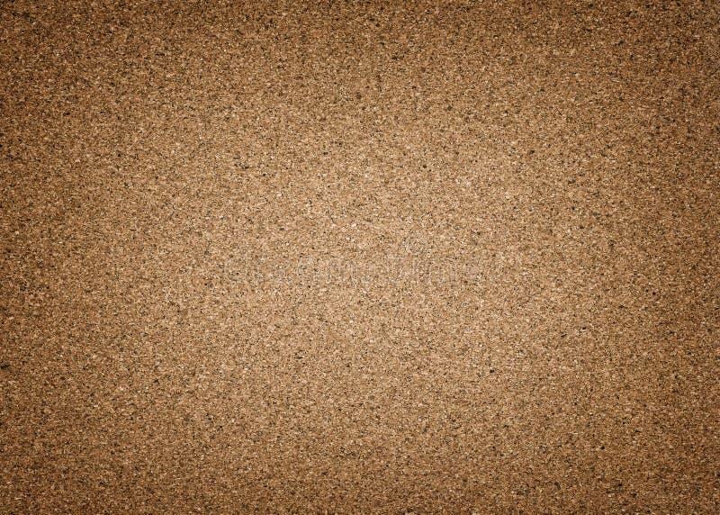 Wysoce szczegółowy brązu korka tło z winietą zdjęcie stock