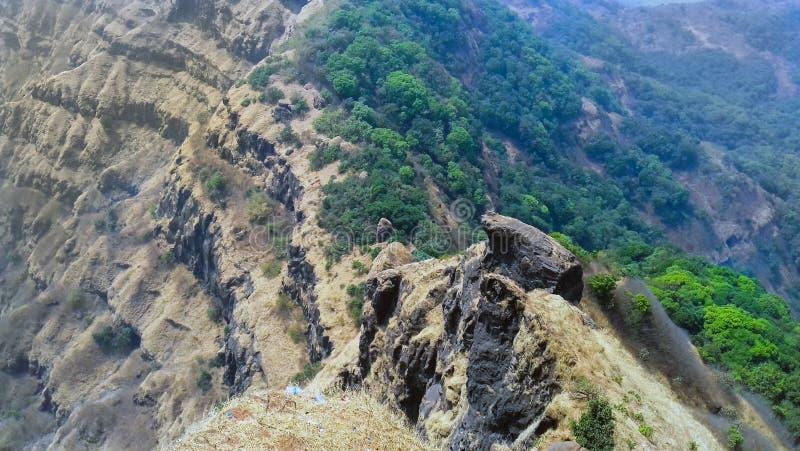 Wysocy pasma mahabaleshwar zdjęcia stock