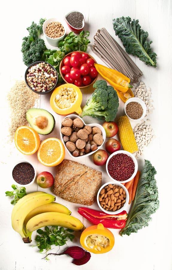 Wysocy włókien foods zdjęcia stock