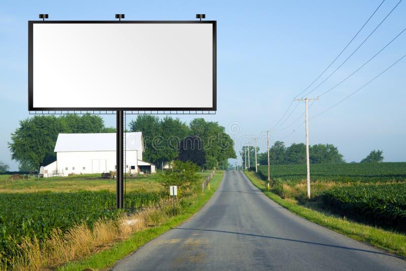 wysoka billboard duży droga zdjęcie stock