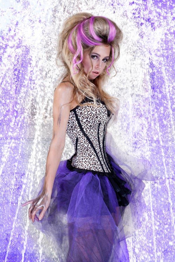 wysoka Cinderella moda obraz royalty free