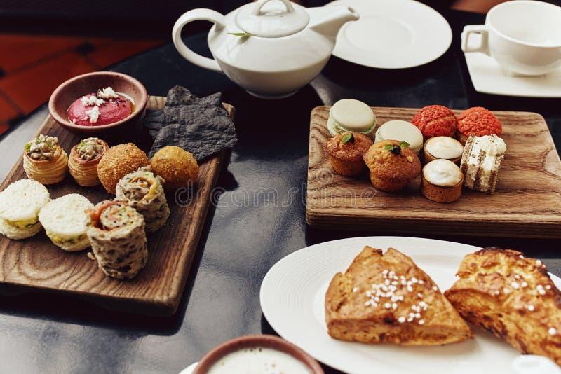 Wysoka herbata rozprzestrzeniająca w Singapur fotografia stock