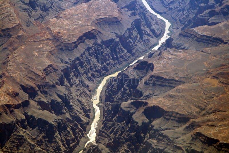 wysoka kanionu rzeki fotografia stock