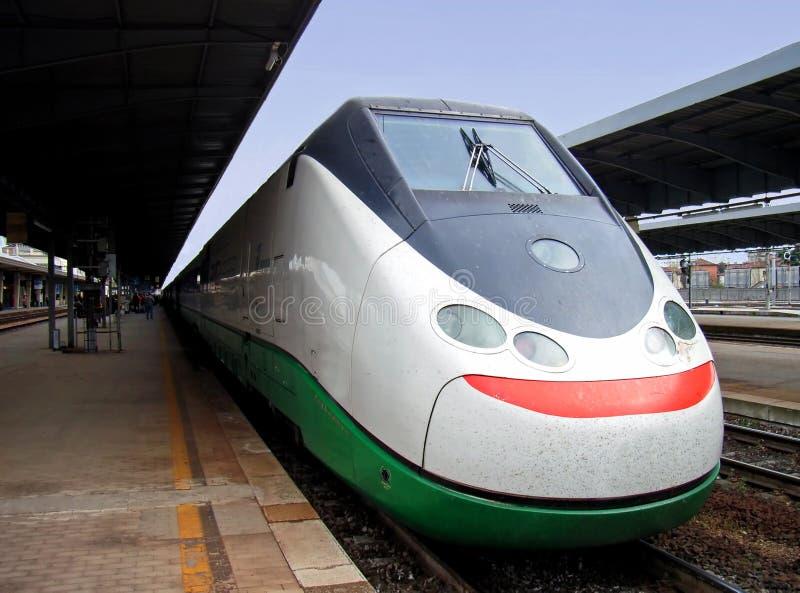 wysoka prędkość pociągu fotografia royalty free