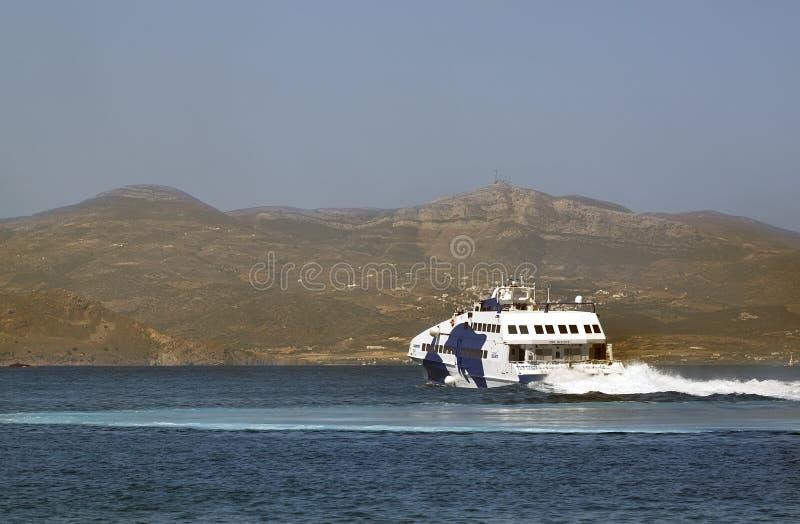 Wysoka prędkości łódź zdjęcia stock