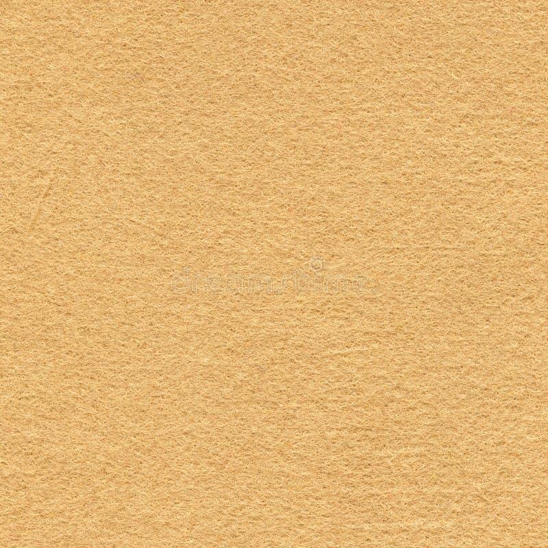 Odczuwana tkaniny tekstura - beż zdjęcie stock